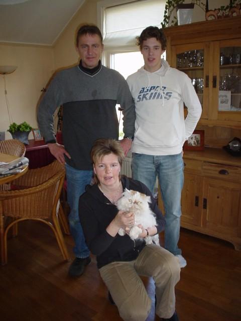 Familie J. de Haan, Zeijen