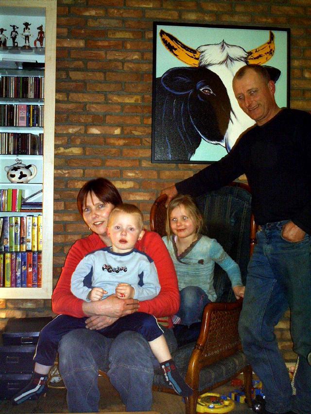Familie J. Brouwer, Zeijen