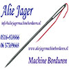 Alie Jager Machine Borduren