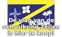 De vlag van de schoolkring Zeijen is hier te koop