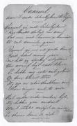 Gedicht meester Jan Pieters, eerste bladzijde